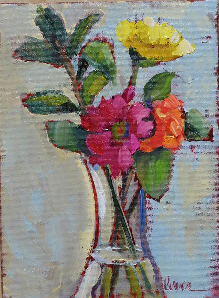 """Still Together"" original fine art by Martha Lever"
