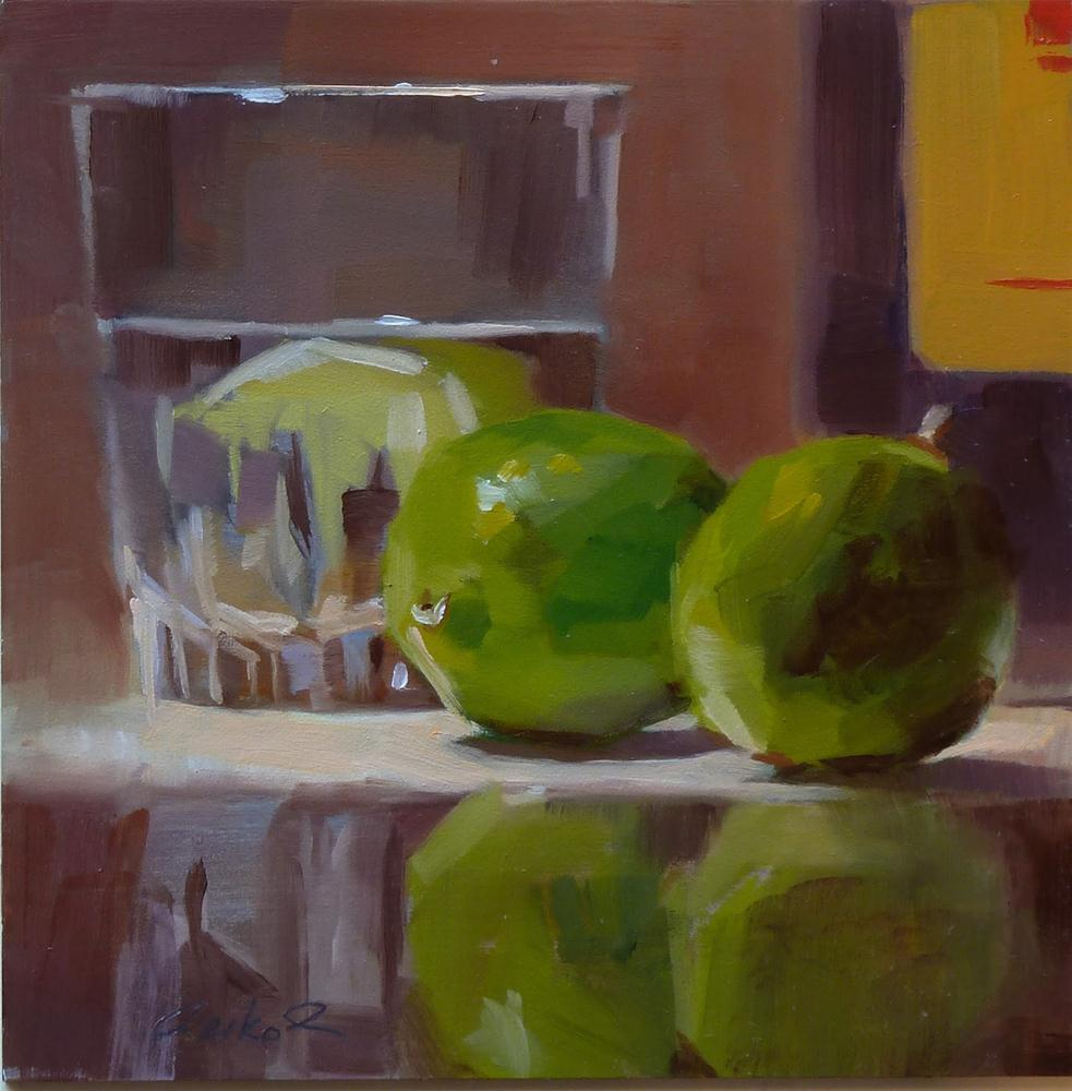 """Limes & You Know"" original fine art by Ron Ferkol"