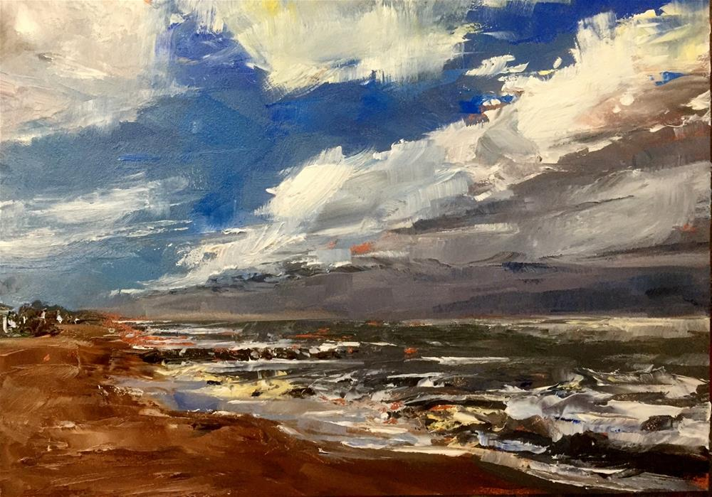 """Sky and Sea"" original fine art by Gary Bruton"