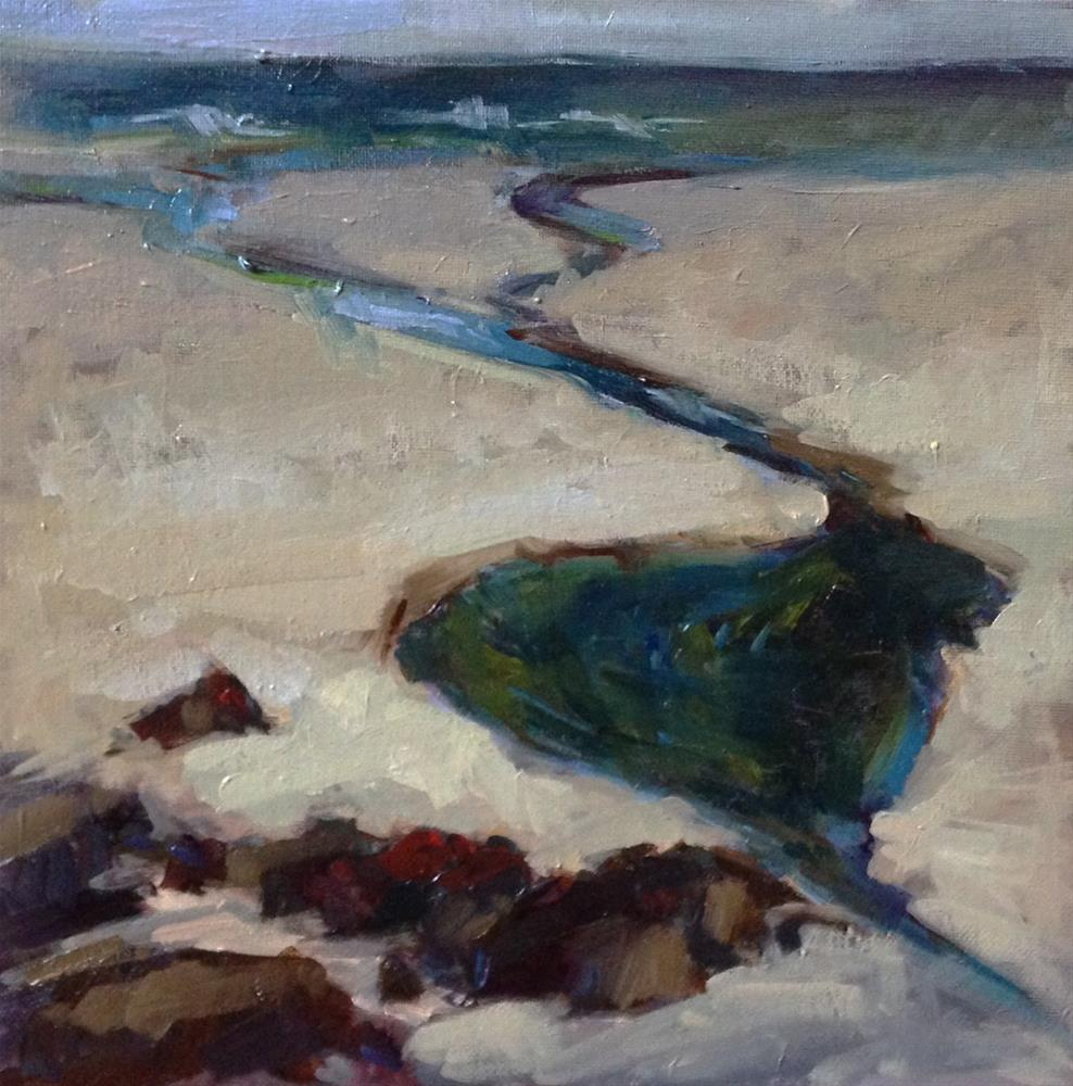 """Neptune's Beach"" original fine art by Patti McNutt"