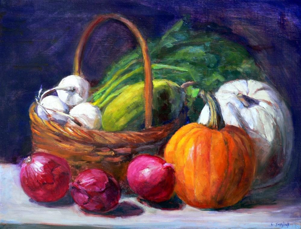 """Harvest"" original fine art by Carol Josefiak"