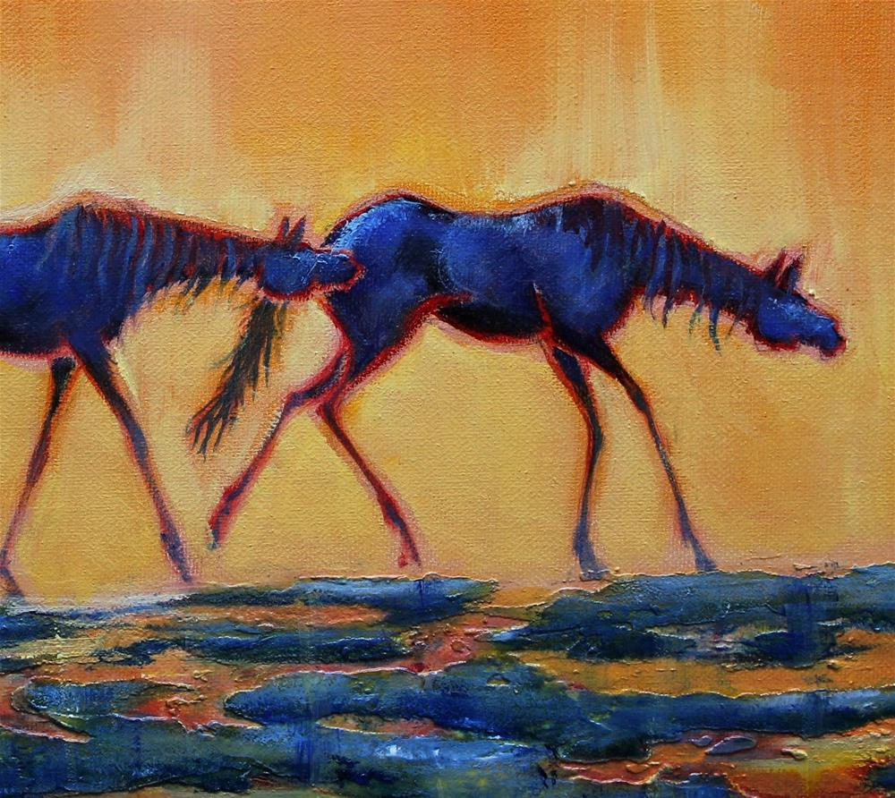 """Follow the Leader"" original fine art by Colleen Drury"