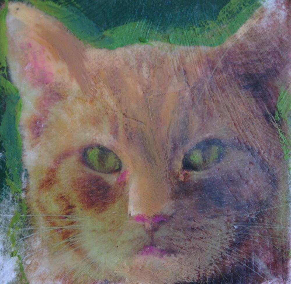 """Pouty Face"" original fine art by barbara quast"