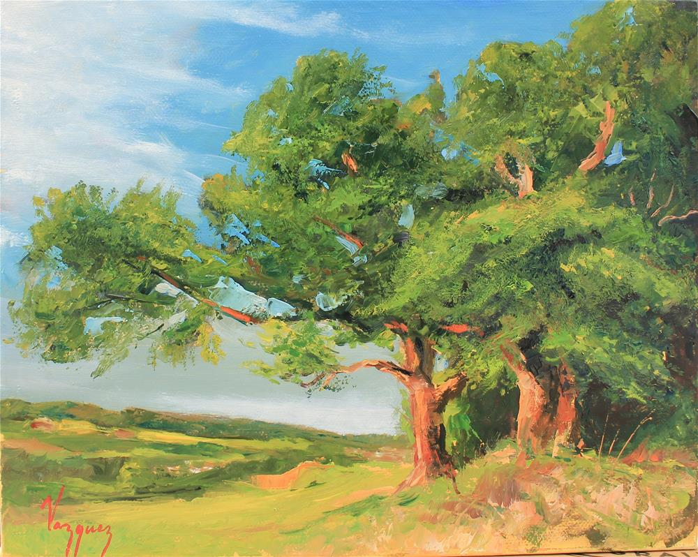 """Robust tree"" original fine art by Marco Vazquez"
