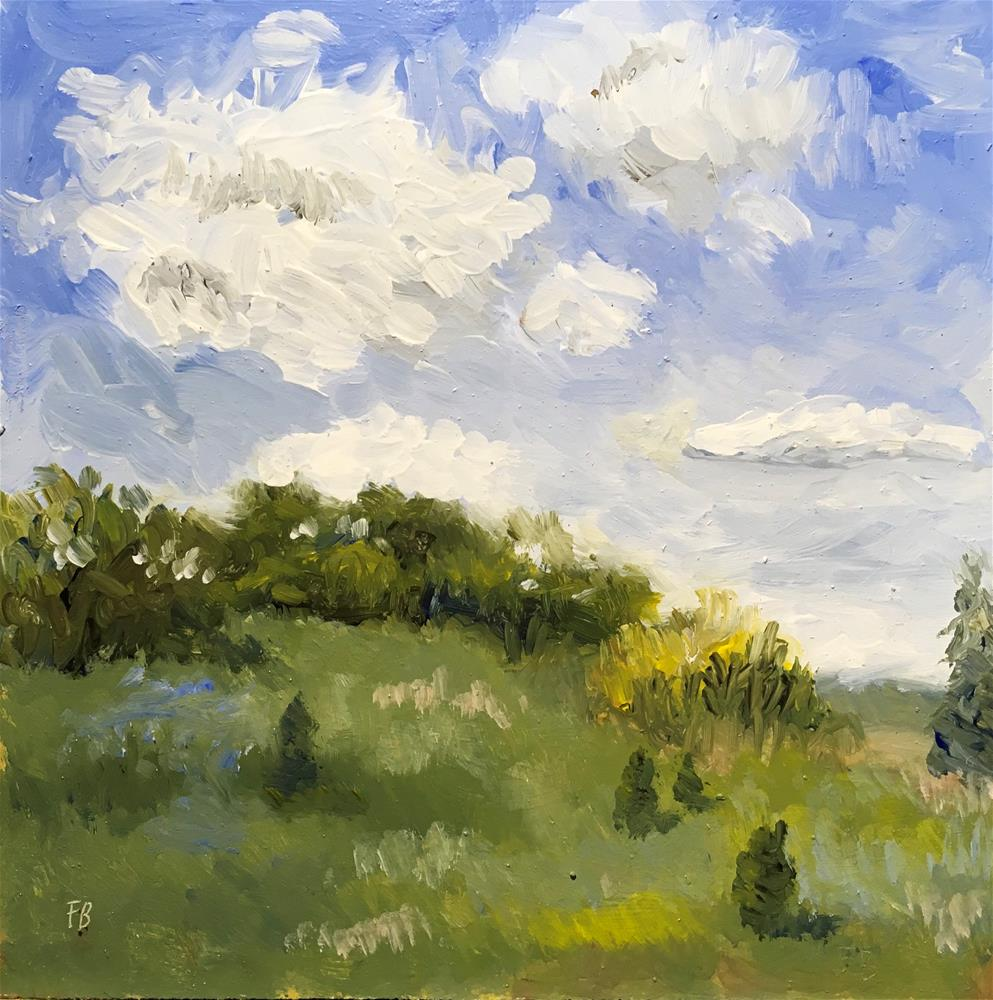 """""""125 Milwaukee County Grounds landscape"""" original fine art by Fred Bell"""