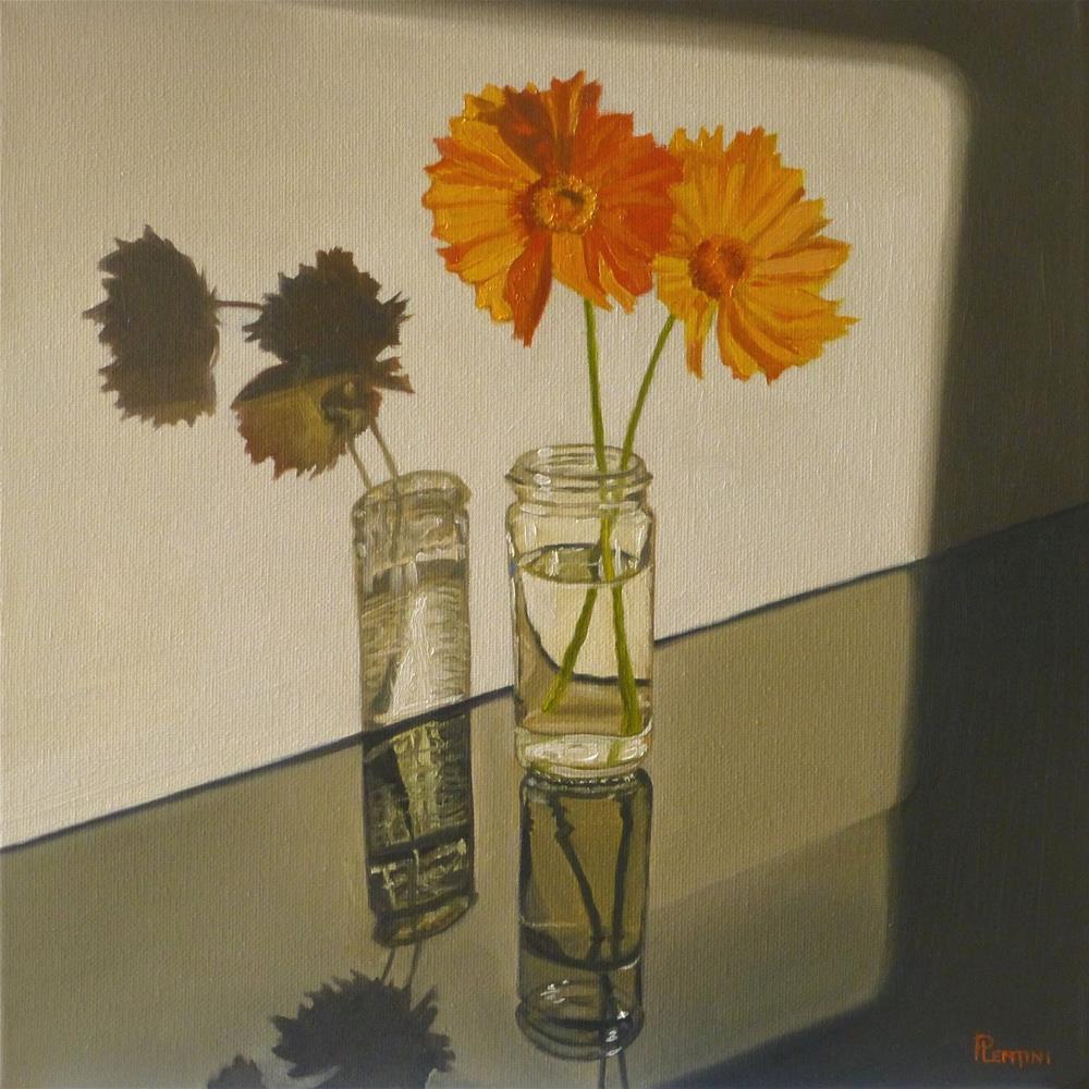 """Binary"" original fine art by Peter Lentini"