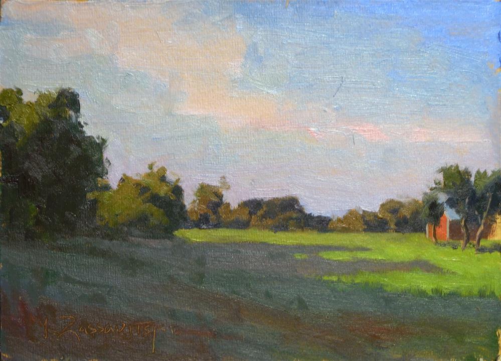 """Late Shadows"" original fine art by Ivan Zassavitski"