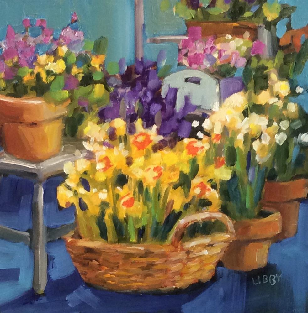 """Spring Premiere"" original fine art by Libby Anderson"
