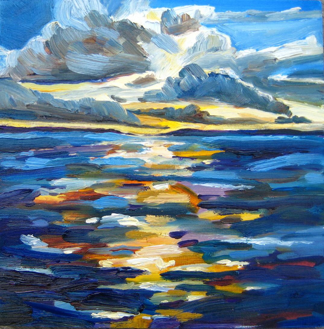 """The Sun's Been Quite Kind"" original fine art by Nicki Ault"