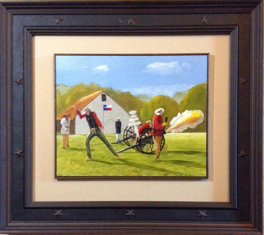 """Lone Star Volunteers"" original fine art by Beau Crump"