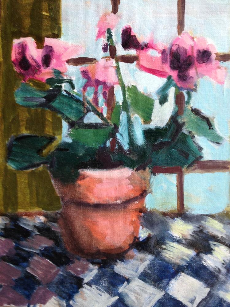"""Martha Washingtons"" original fine art by Pamela Hoffmeister"