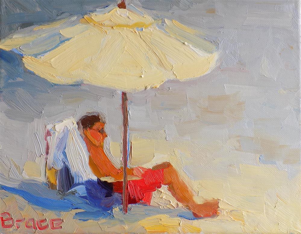 """""""Shade In The Sun"""" original fine art by Rita Brace"""