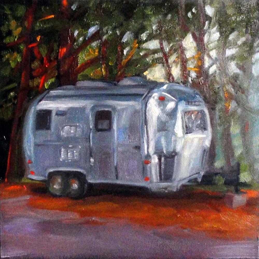 """Airstreaming Dreaming"" original fine art by Cietha Wilson"
