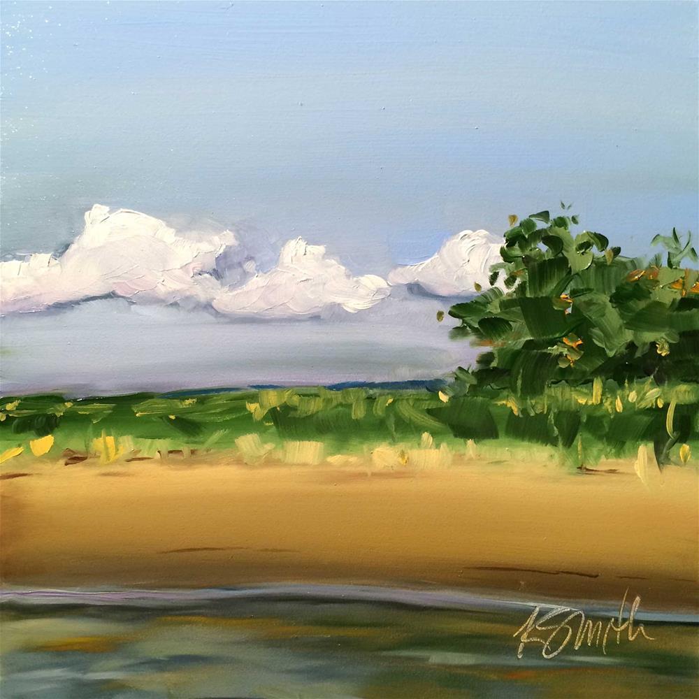 """the Chesapeake"" original fine art by Kim Smith"