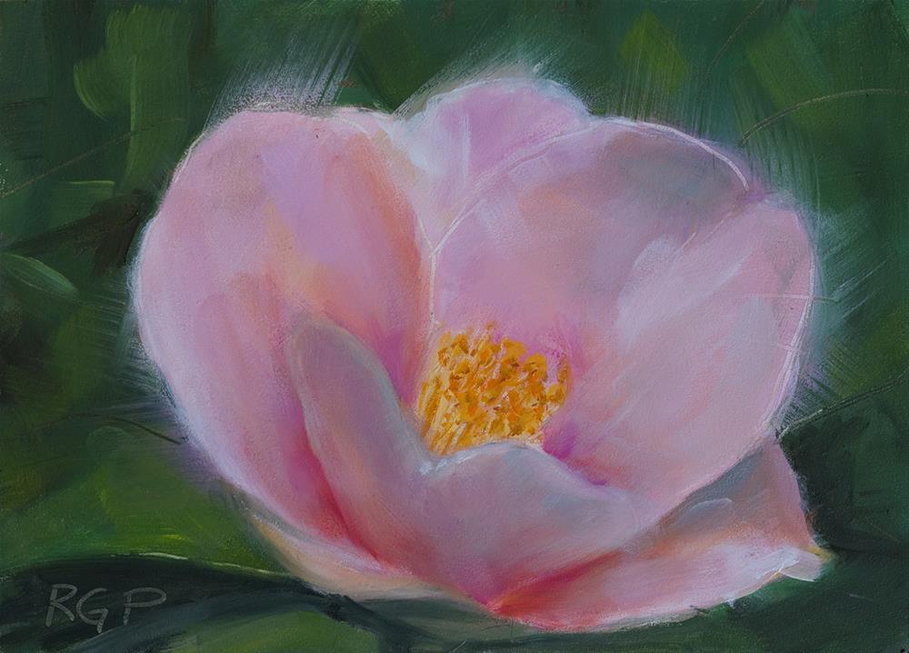"""""""Primrose"""" original fine art by Rhea  Groepper Pettit"""