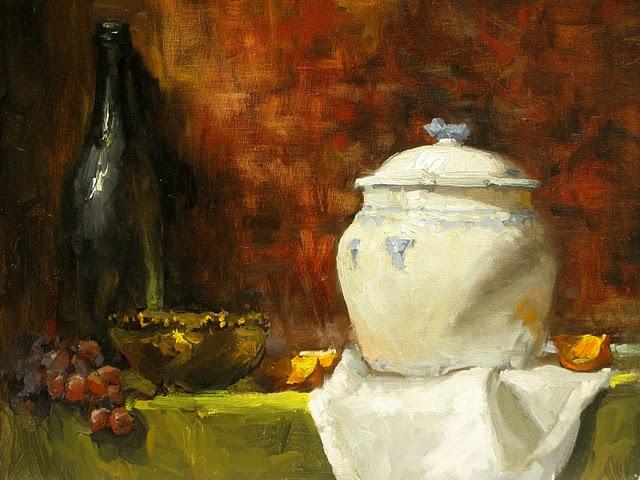"""""""ORANGE SLICES"""" original fine art by James Coulter"""