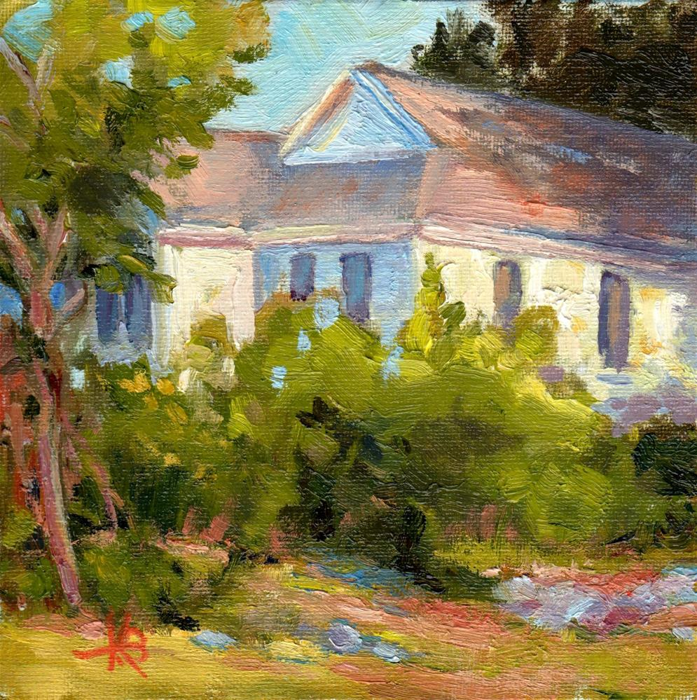 """Howard's House"" original fine art by Kathy Bodamer"