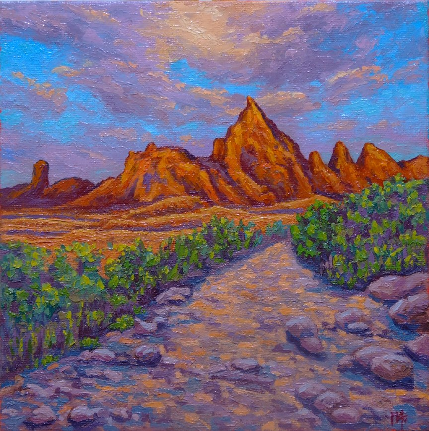 """South Arizona"" original fine art by Mark  Attard"