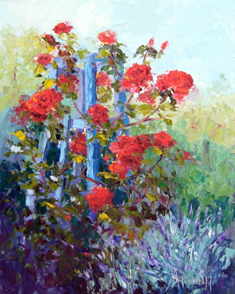 """""""Summer Scent"""" original fine art by Marion Hedger"""