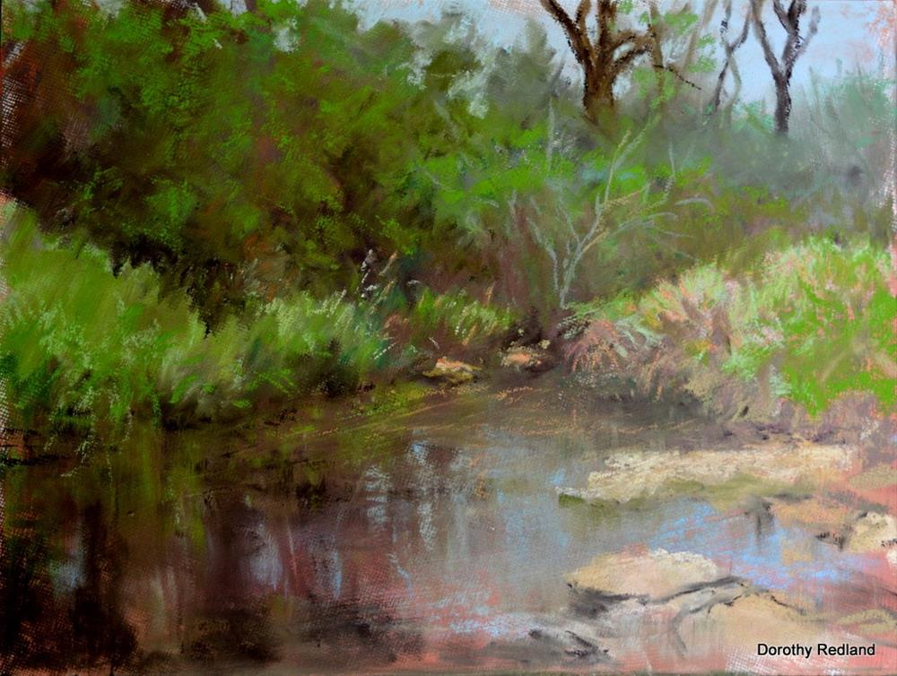 """Little willow creek"" original fine art by Dorothy Redland"