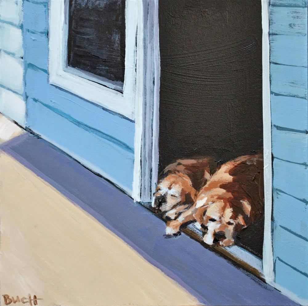 """Watch Dogs"" original fine art by Shari Buelt"