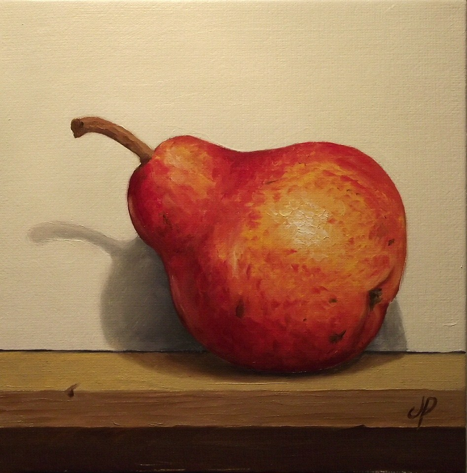 """Williams Pear"" original fine art by Jane Palmer"