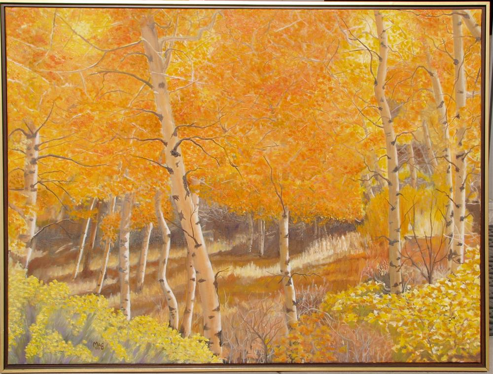 """Autumn Afernon"" original fine art by John F McGowan"