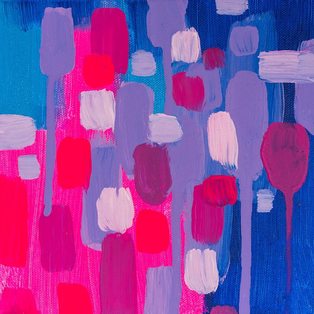 """Violet Study"" original fine art by Franziska Schwade"