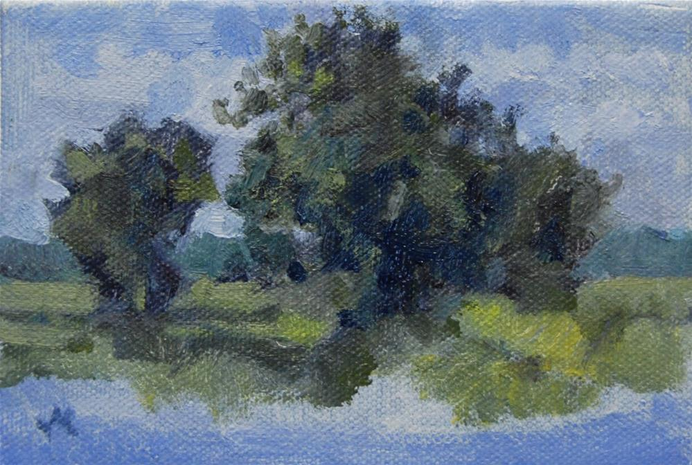 """Plein Air Study Mt Pleasant SC"" original fine art by Michel McNinch"