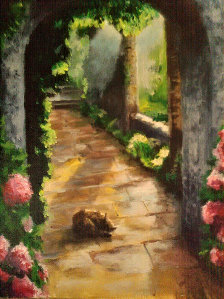 """""""Sweet Spot"""" original fine art by Kate Less-Madsen"""