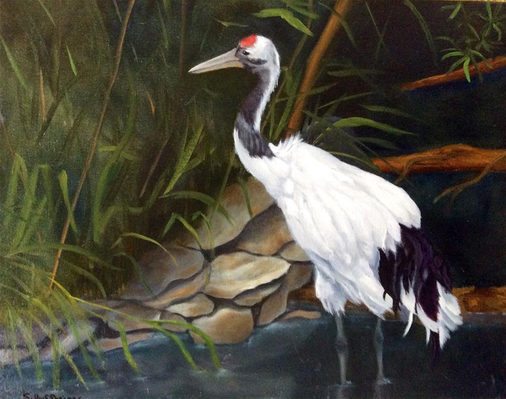 """Hunting"" original fine art by Susan Hoffheimer"