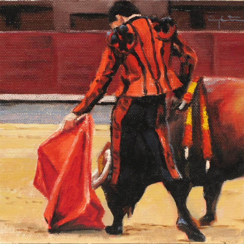 """""""Al natural"""" original fine art by Eduardo Carpintero"""