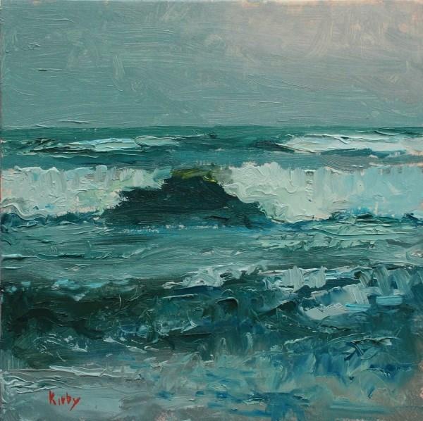 """Salty Sea"" original fine art by Randall Cogburn"