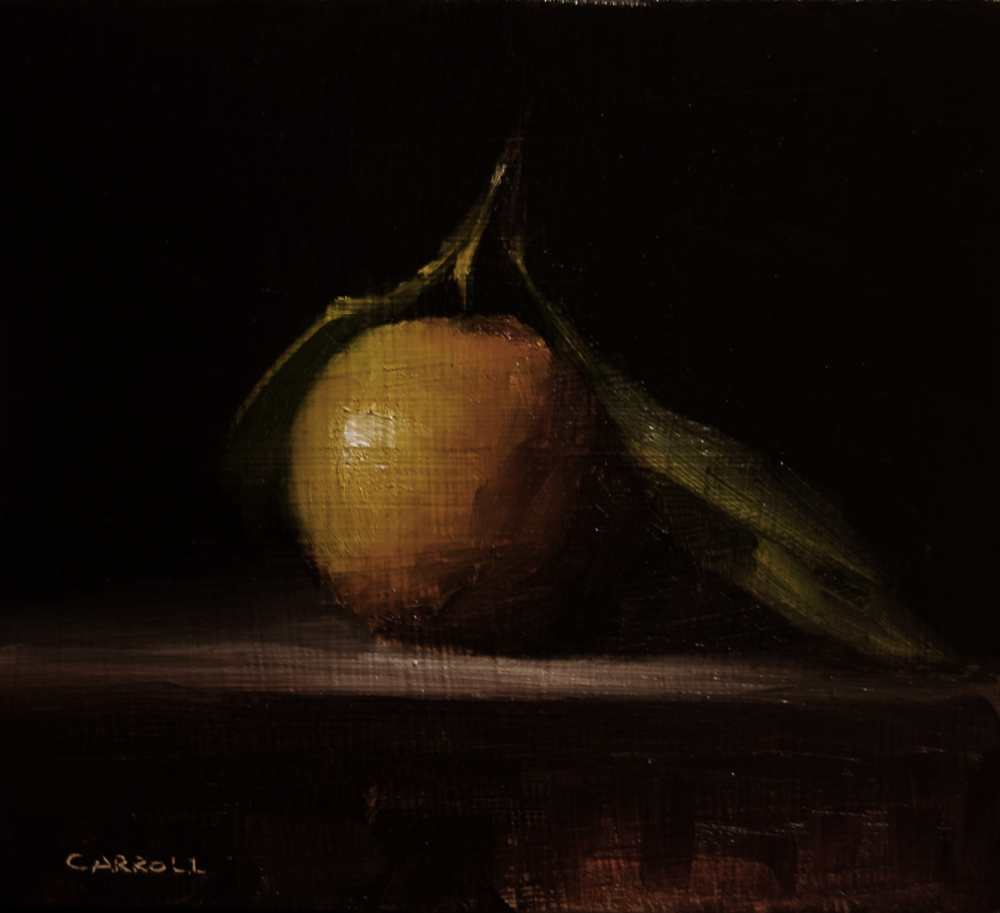 """Clementine No.2"" original fine art by Neil Carroll"