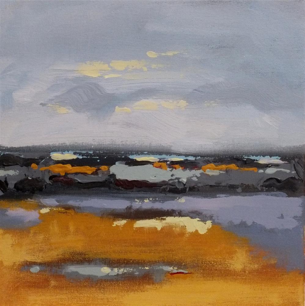 """Landscape 168"" original fine art by Ewa Kunicka"