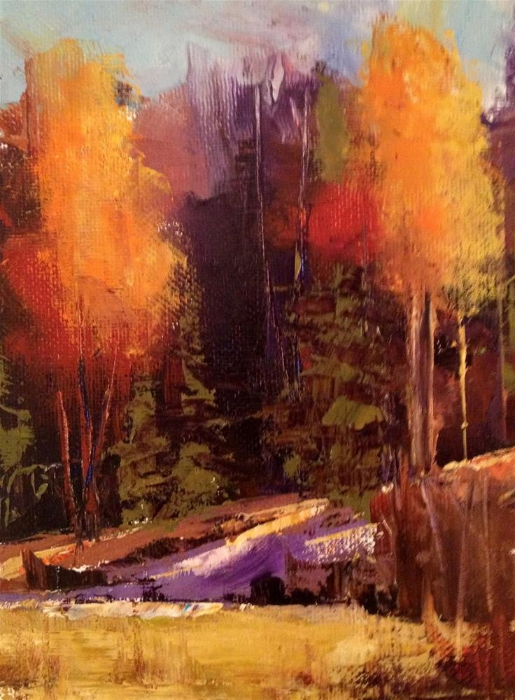 """Fall Class Announcement"" original fine art by Ann Feldman"