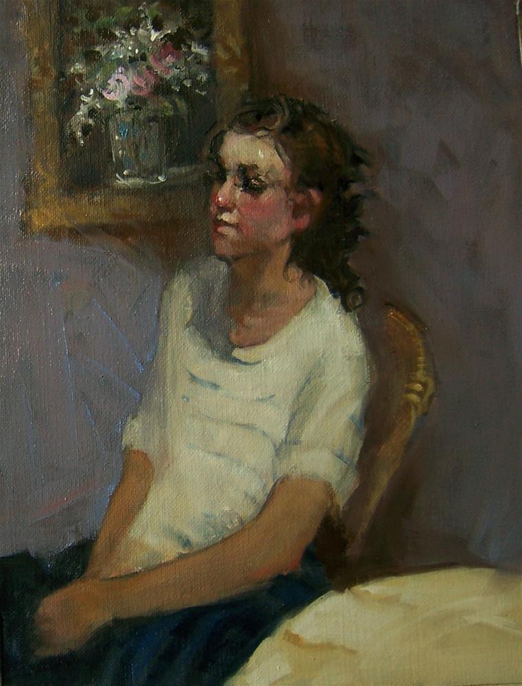 """Manet's Bouquet Andrea"" original fine art by Kim Roberti"