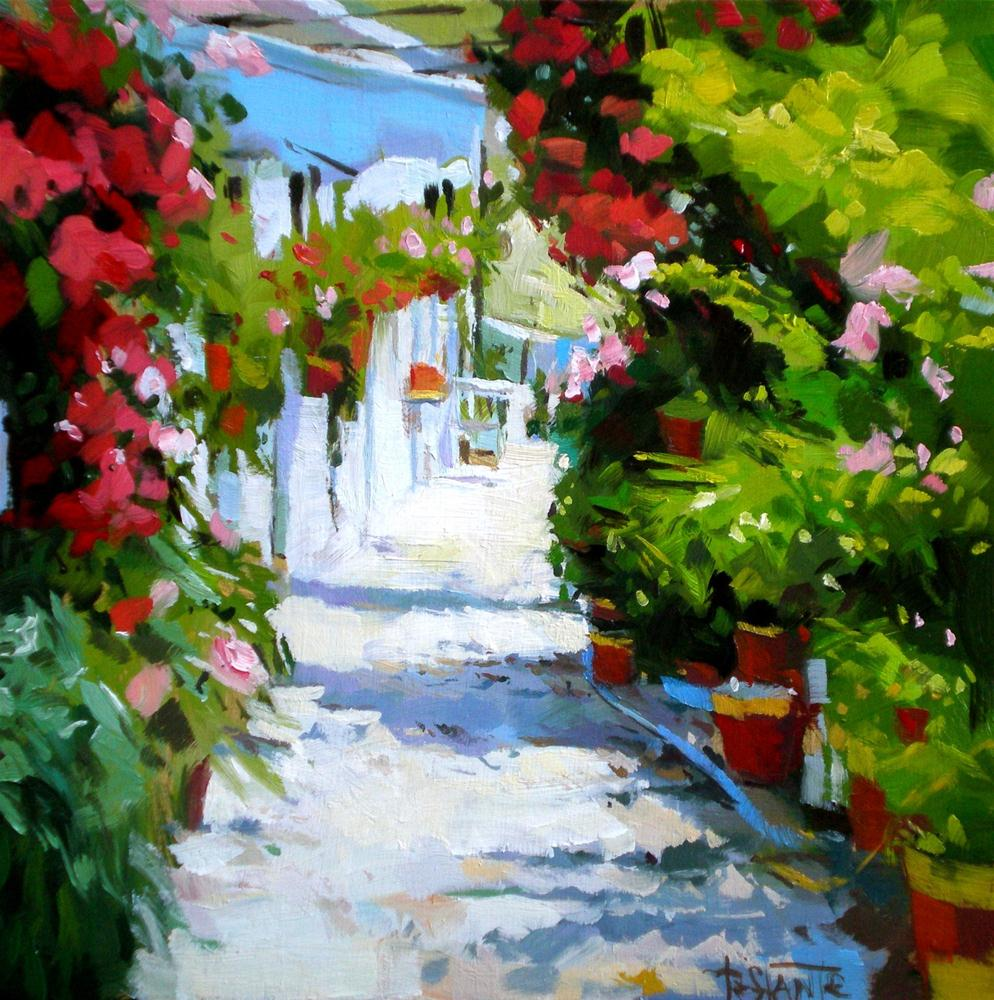 """Plant Street"" original fine art by Víctor Tristante"