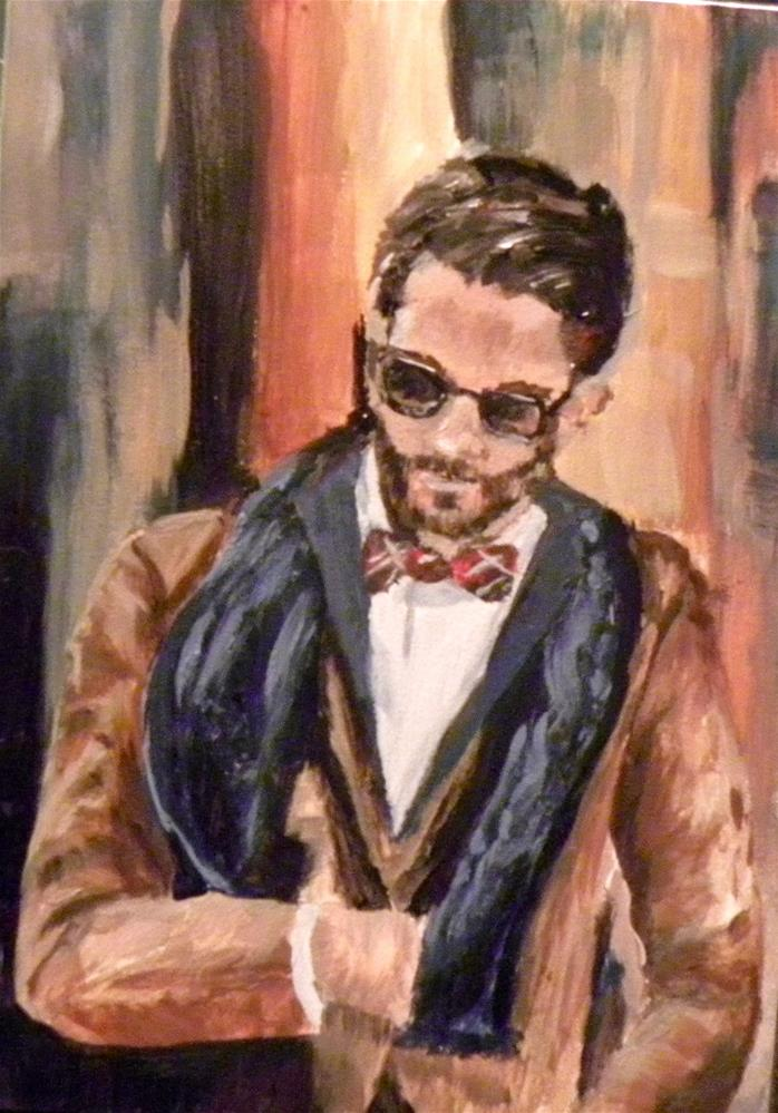 """Mr. All That and More"" original fine art by cheryl buhrman"