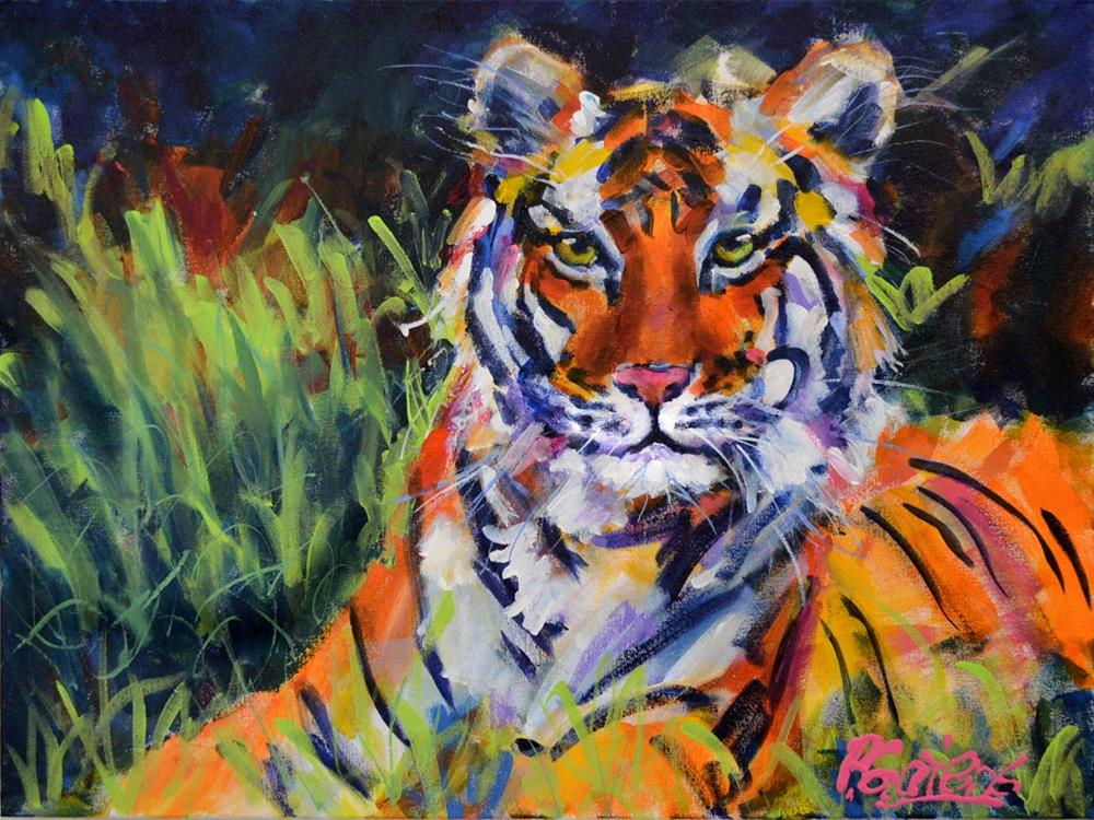 """Crown Jewel of India"" original fine art by Pamela Gatens"