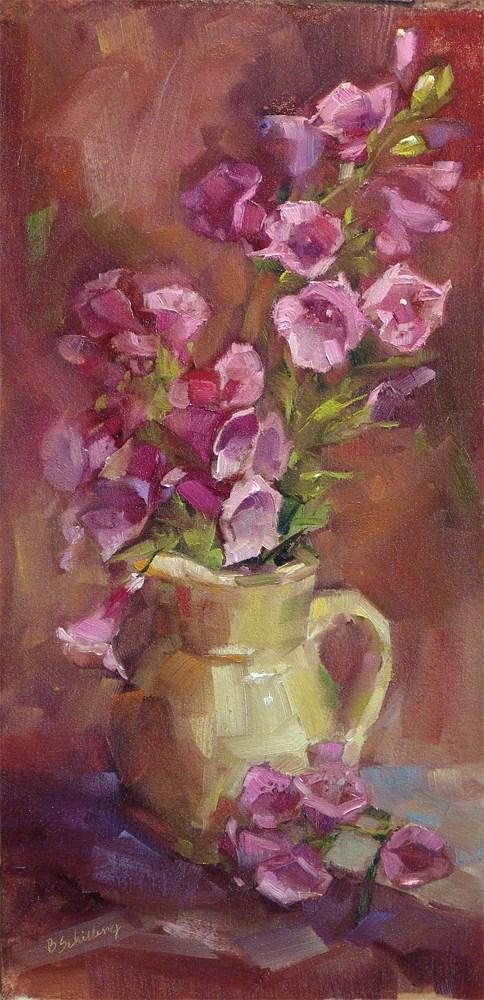"""Foxglove"" original fine art by Barbara Schilling"