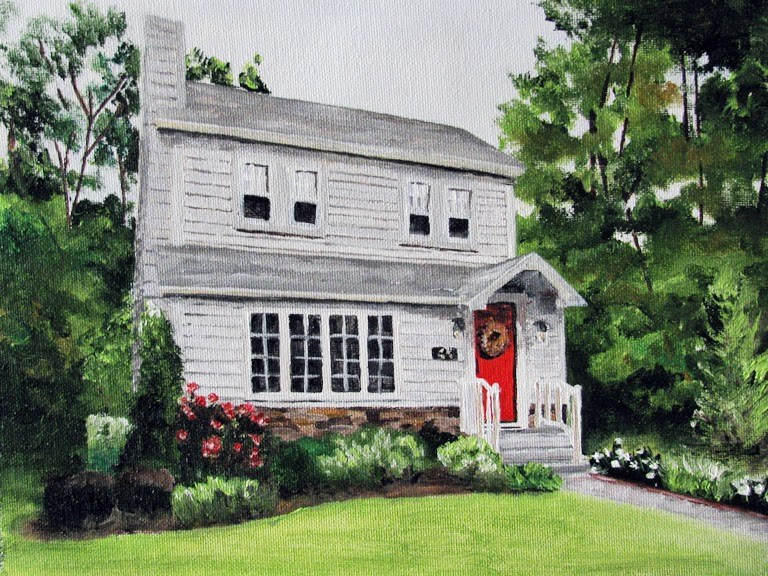 """Beverly Road"" original fine art by Nan Johnson"
