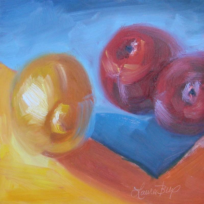 """Primary"" original fine art by Laura  Buxo"