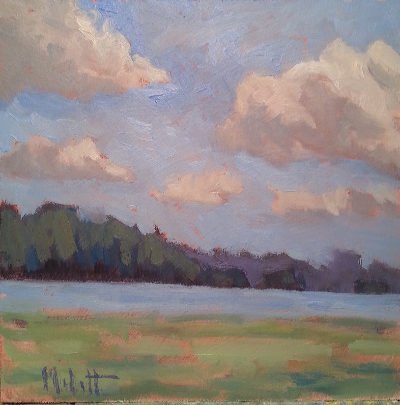 """Daydreams Landscape Impressions Daily Oil Painting"" original fine art by Heidi Malott"