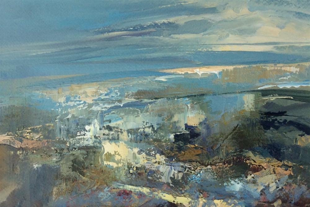 """Sunrise"" original fine art by Anne Wood"