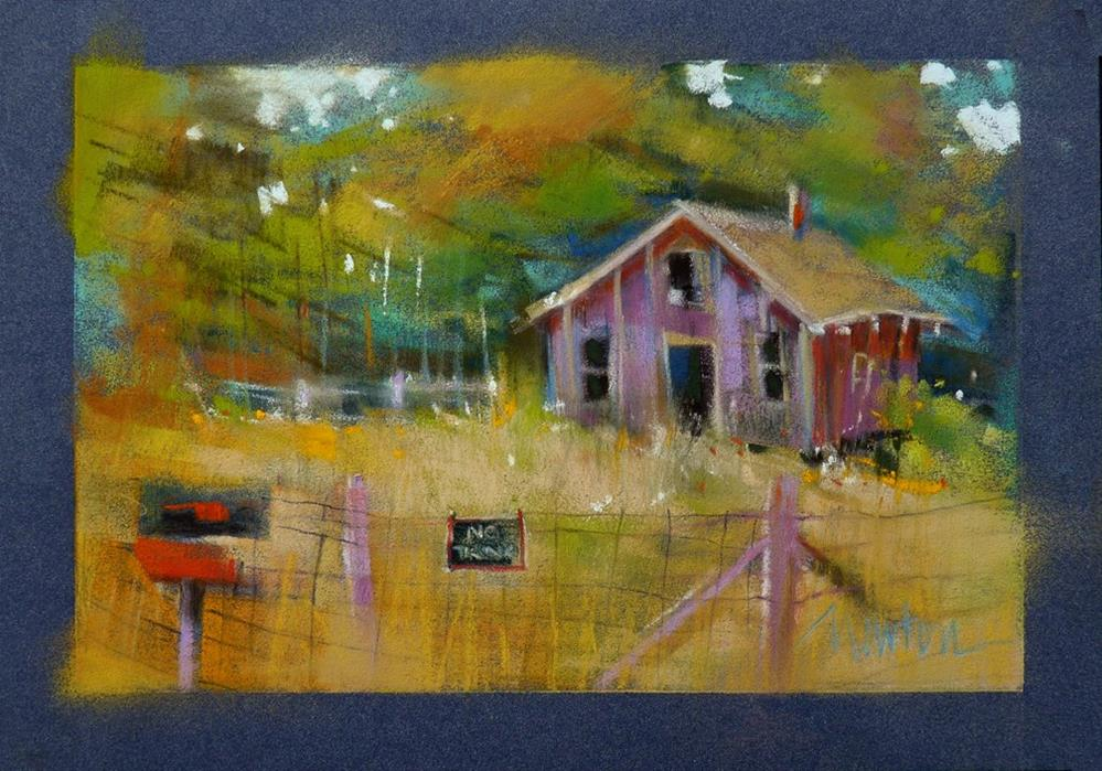 """Homestead"" original fine art by Barbara Benedetti Newton"