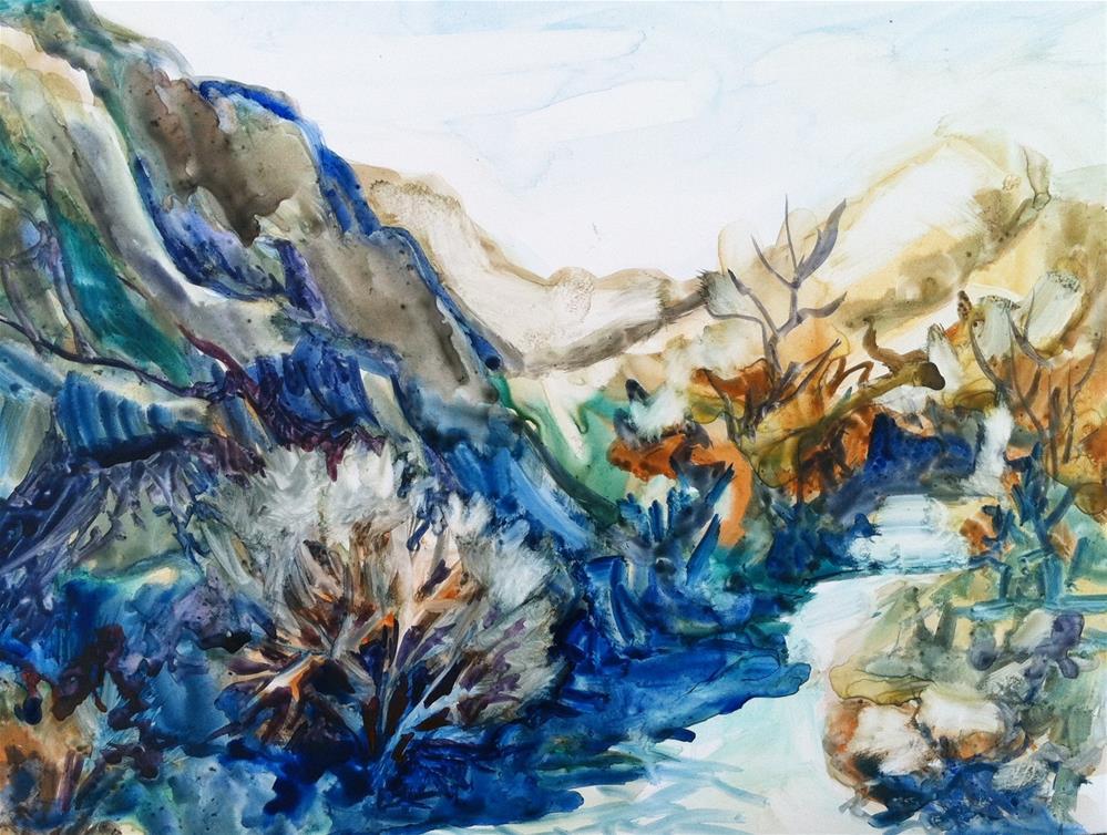 """Anza Borrego"" original fine art by Sally Posner"