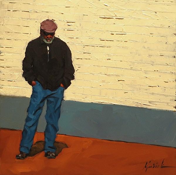 """H Street"" original fine art by Karin Jurick"