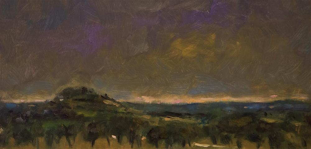 """Dark Sky in the Auvergne"" original fine art by Andre Pallat"