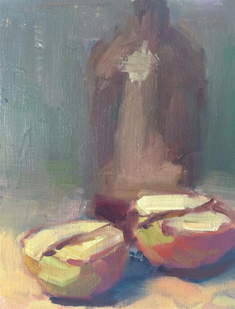 """Apples"" original fine art by Naomi Bautista"
